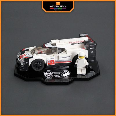 Display solutions for LEGO Speed Champions: Porsche 919 (75887) - Wicked Brick