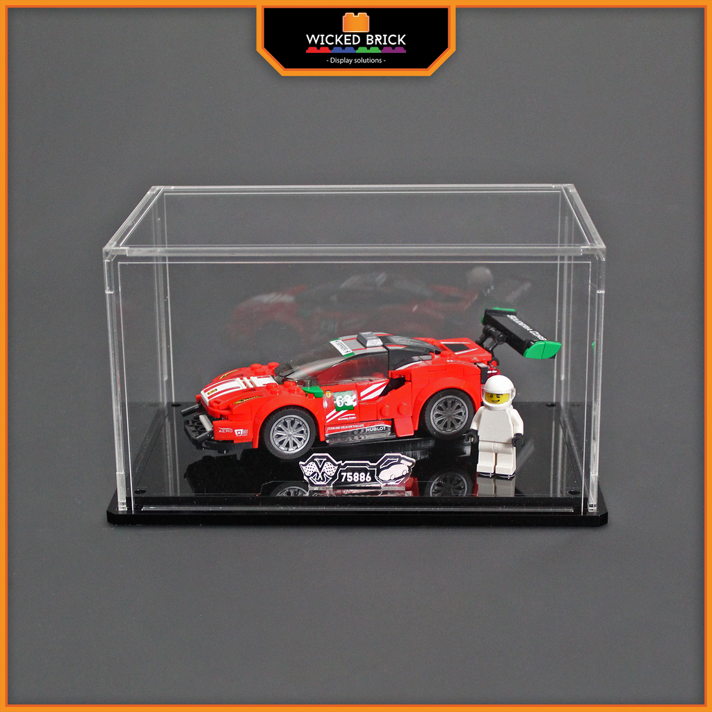 Display solutions for LEGO Speed Champions: Ferrari 488 GT3 (75886) - Wicked Brick