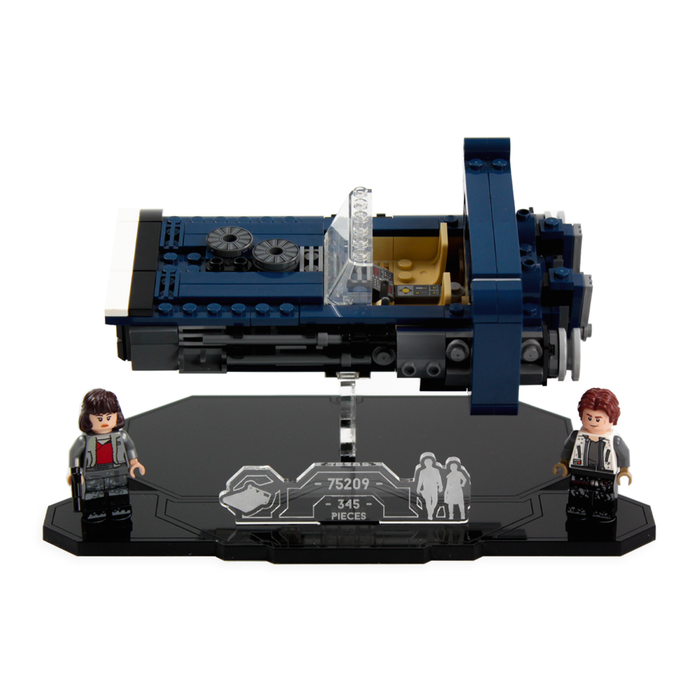 Display solutions for LEGO Star Wars: Han Solo's Landspeeder (75209) - Wicked Brick