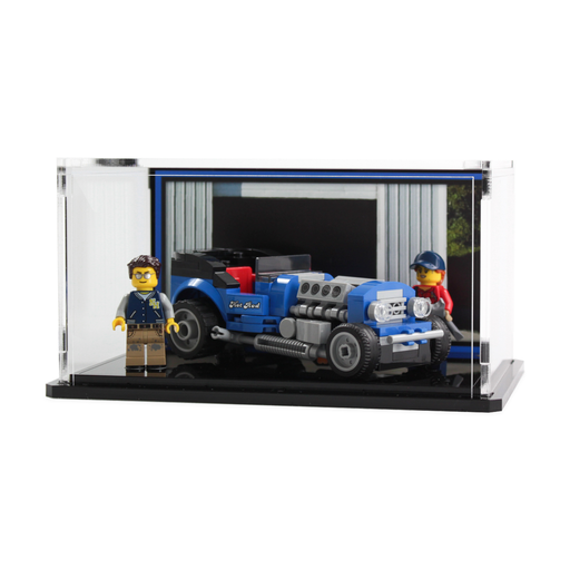 Display case for LEGO Creator: Hot Rod (40409)