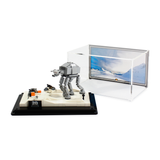 Display case for LEGO Star Wars: Battle of Hoth 20th Anniversary Edition (40333)