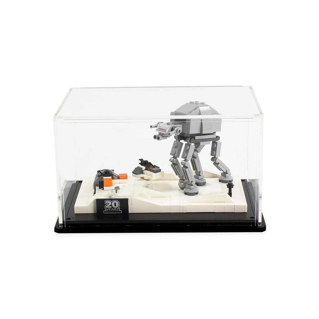 Display case for LEGO Star Wars: Battle of Hoth 20th Anniversary Edition (40333) - Wicked Brick