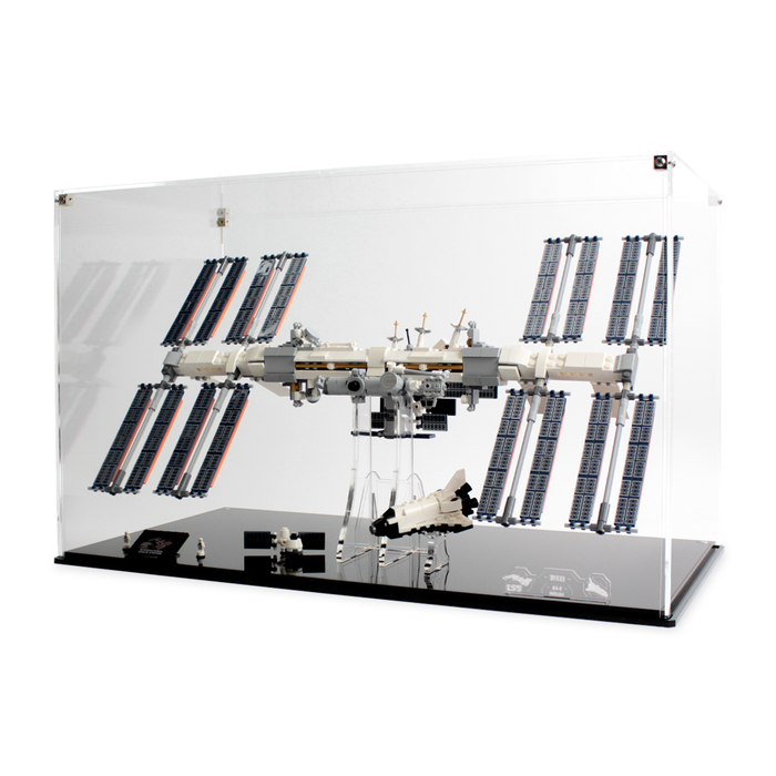 Display cases for LEGO Ideas: International Space Station (21321) - Wicked Brick