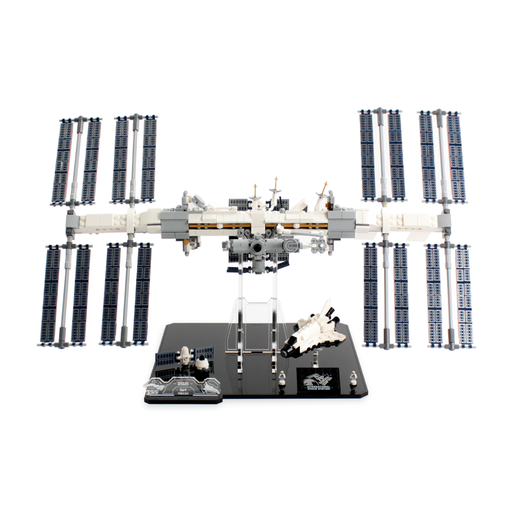 Display stand for LEGO Ideas: International Space Station (21321) - Wicked Brick