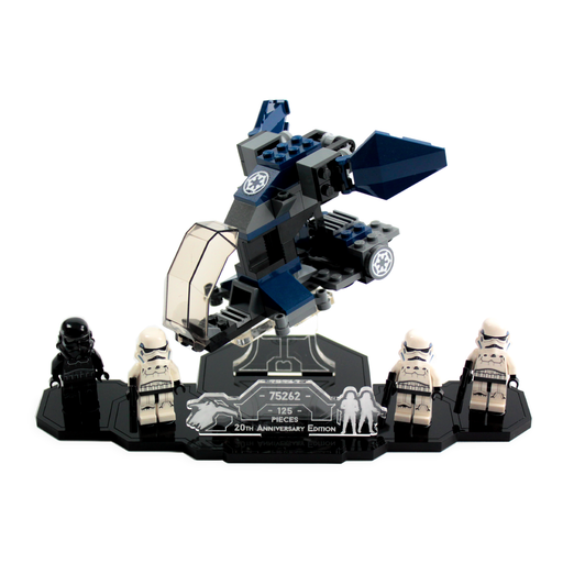 Display solutions for set Imperial Dropship 20th Anniversary Edition (75262) - Wicked Brick