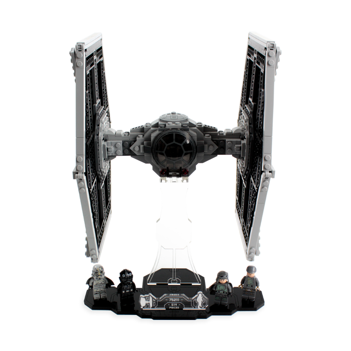 Display solutions for LEGO Star Wars: Imperial TIE Fighter (75211) - Wicked Brick