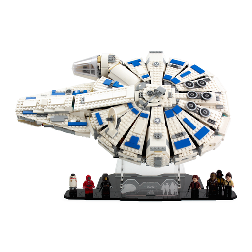 Display stand for LEGO Star Wars: Kessel Run Millennium Falcon (75212) - Wicked Brick