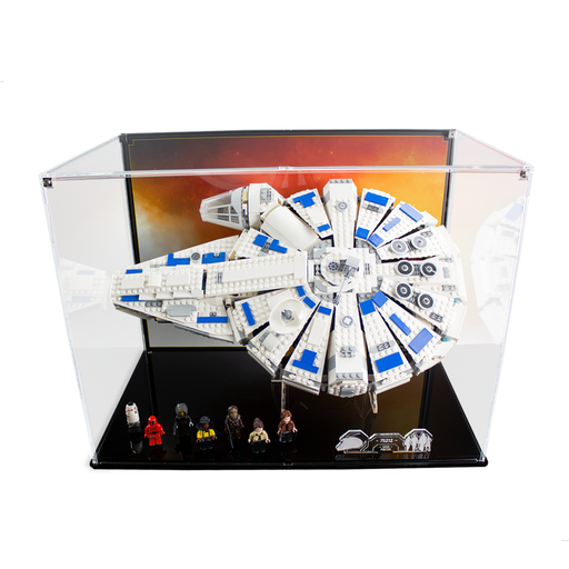 Display case for LEGO Star Wars: Kessel Run Millennium Falcon (75212) - Wicked Brick
