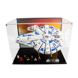 Display solutions for LEGO Star Wars: Kessel Run Millennium Falcon (75212) - Wicked Brick