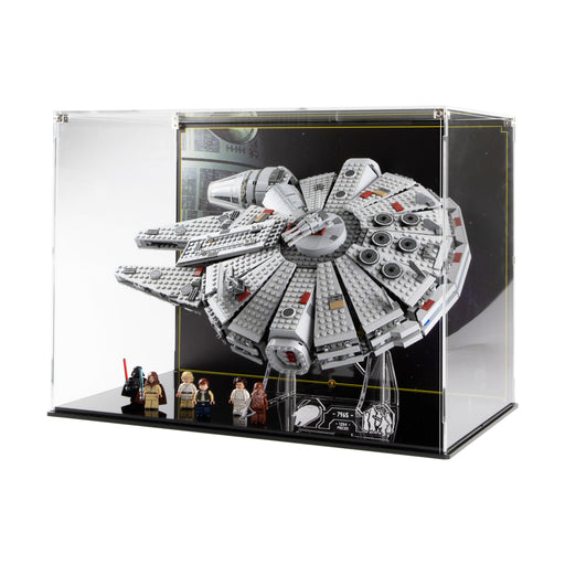 Display case for LEGO Star Wars: Millennium Falcon (7965)