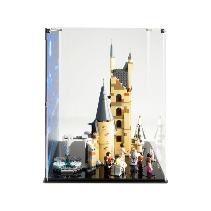 Display case for LEGO Harry Potter: Hogwarts Clock Tower (75948)