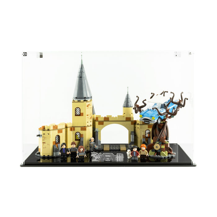 Display case for LEGO Harry Potter: Hogwarts Whomping Willow (75953)