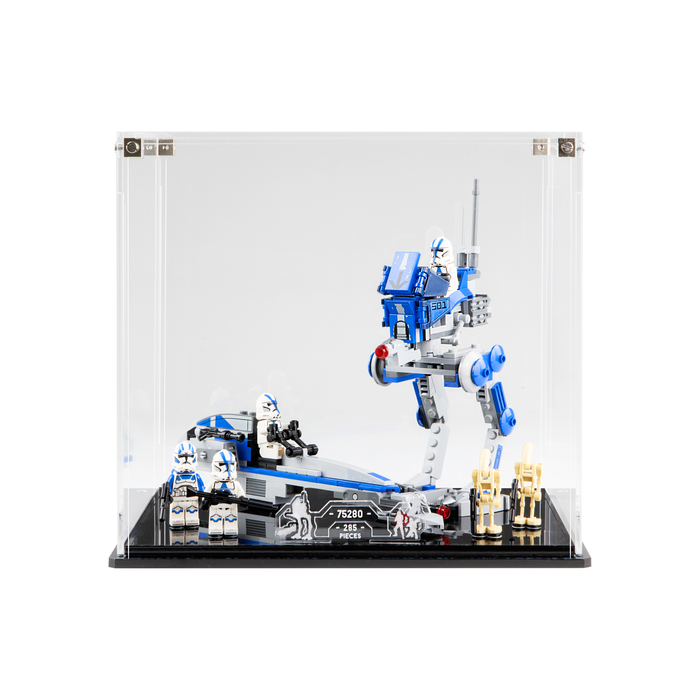 Display case for LEGO: Star Wars 501st Legion Clone Troopers (75280)