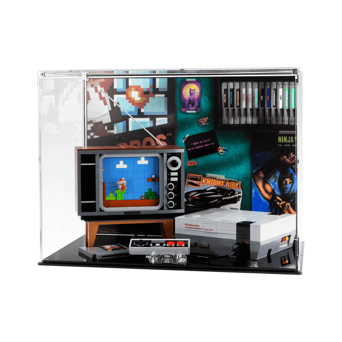 Display case for LEGO: Nintendo Entertainment System (71374)