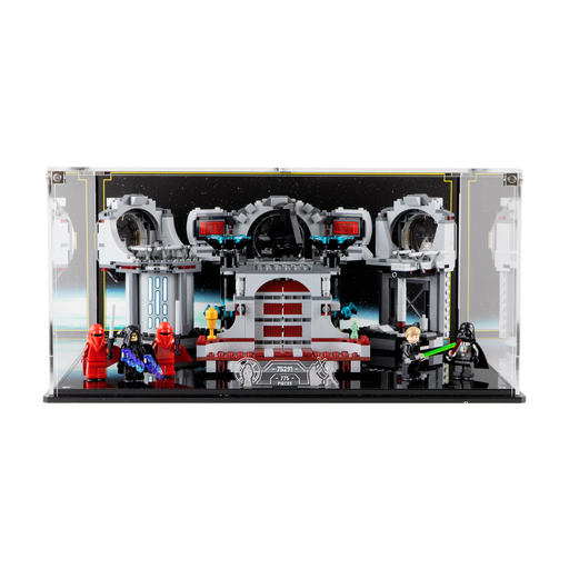Display case for LEGO Star Wars: Death Star Final Duel (75291)