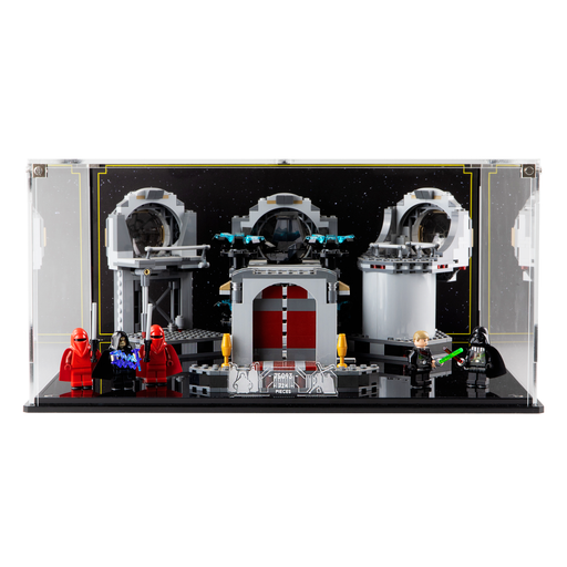 Display case for LEGO Star Wars: Death Star Final Duel (75093)