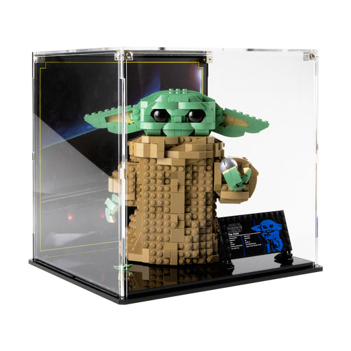 Display case for LEGO Star Wars: The Child (75318)