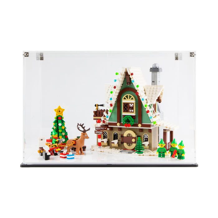 Display case for LEGO: Elf Club House (10275) - Black Base