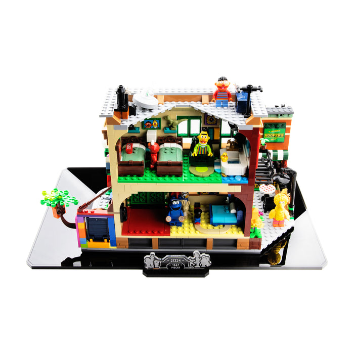 Display base for LEGO Ideas: 123 Sesame Street (21324)