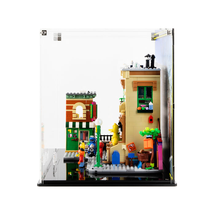 Display case for LEGO Ideas: 123 Sesame Street (21324)