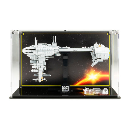 Display case for LEGO Star Wars: Nebulon-B Frigate (77904)
