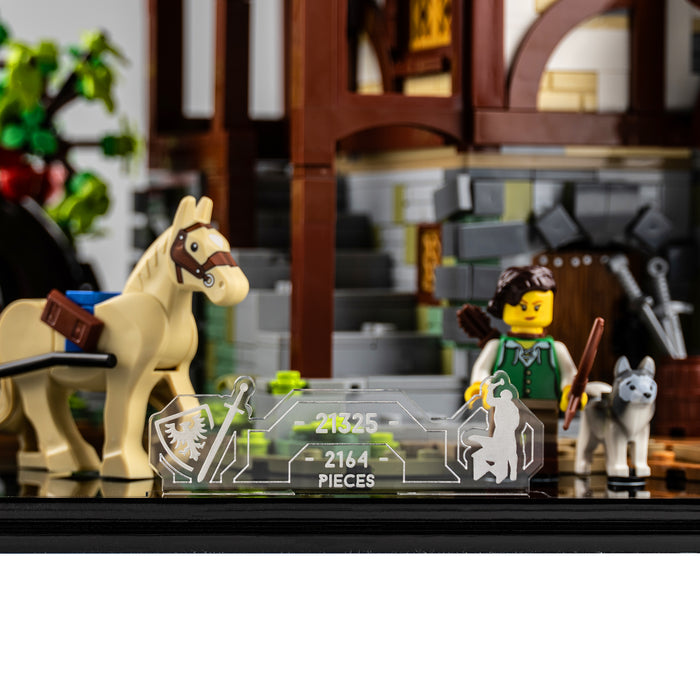 Display base for LEGO Ideas: Medieval Blacksmith (21325)
