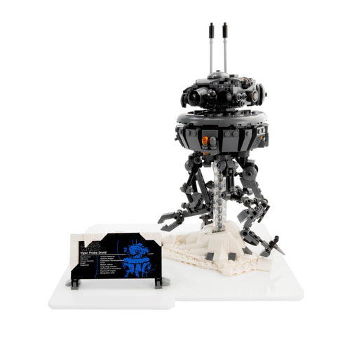 Display Base for LEGO Star Wars: Imperial Probe Droid (75306)