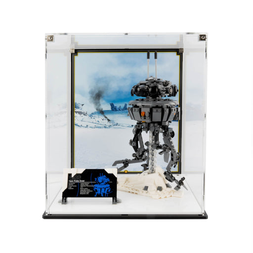 Display Case for LEGO Star Wars: Imperial Droid (75306)