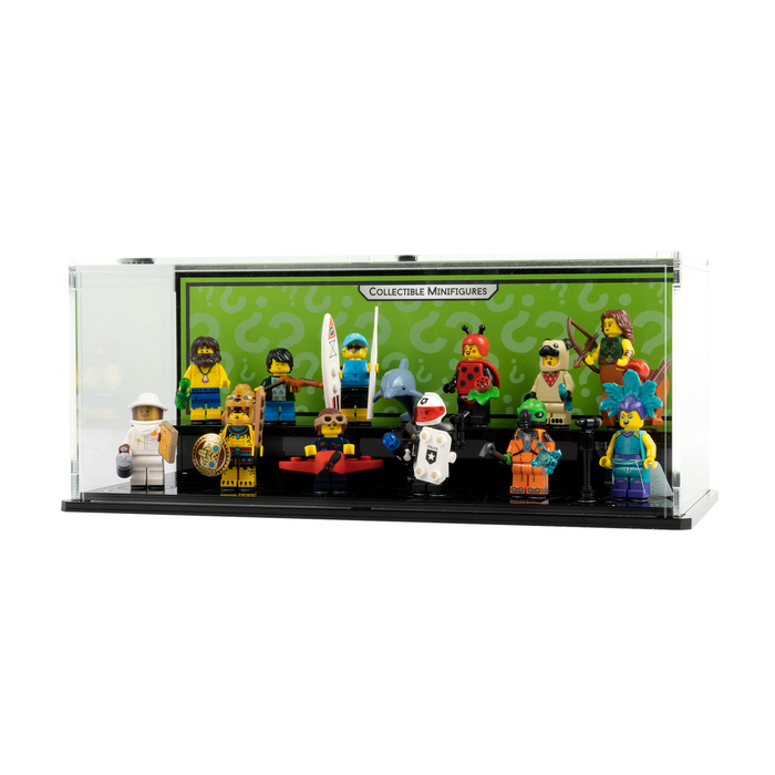 Display case for LEGO: Collectable Minifigure Series 21 (71092)