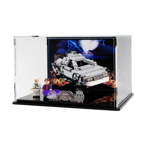 Display case for LEGO Ideas: The DeLorean (21103)