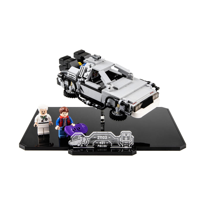 Display base for LEGO Ideas: The DeLorean (21103)