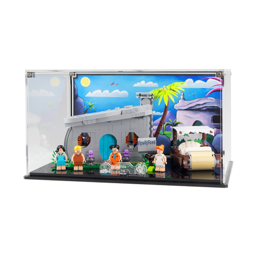 Display case for LEGO Ideas: The Flintstones (21316)