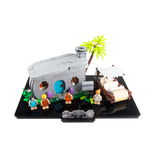 Display base for LEGO Ideas: The Flintstones (21316)