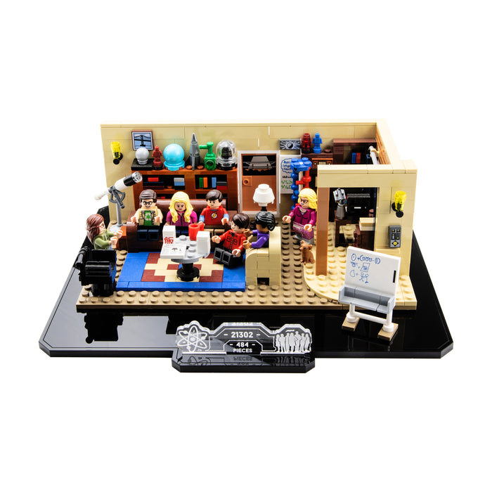 Display base for LEGO Ideas: The Big Bang Theory (21302)
