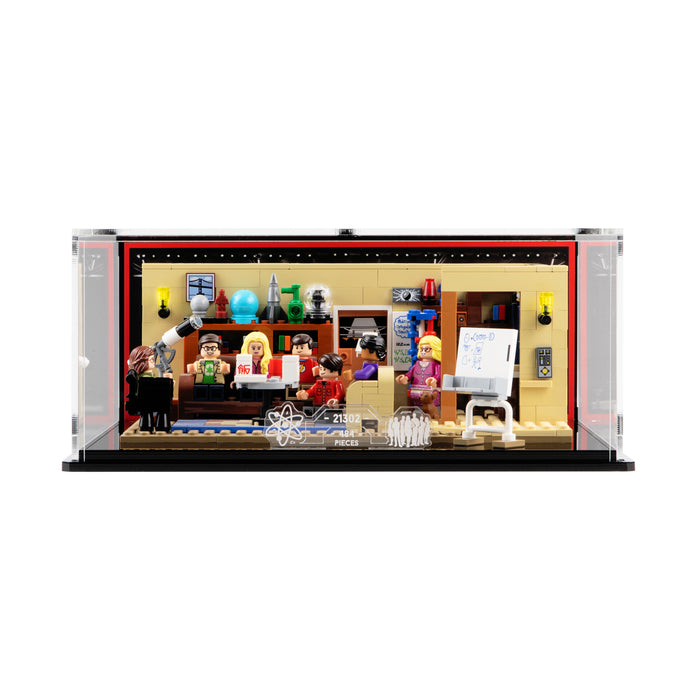 Display case for LEGO Ideas: The Big Bang Theory (21302)