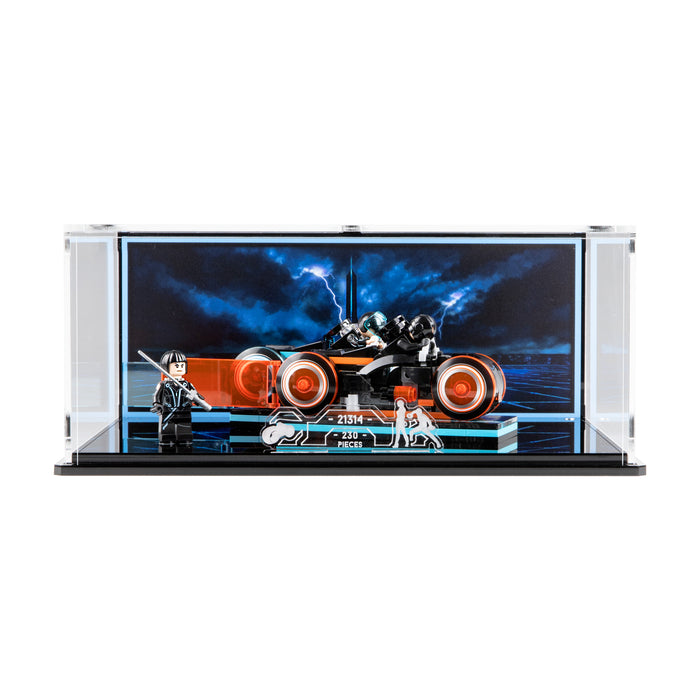 Display case for LEGO Ideas: Tron Legacy (21314)