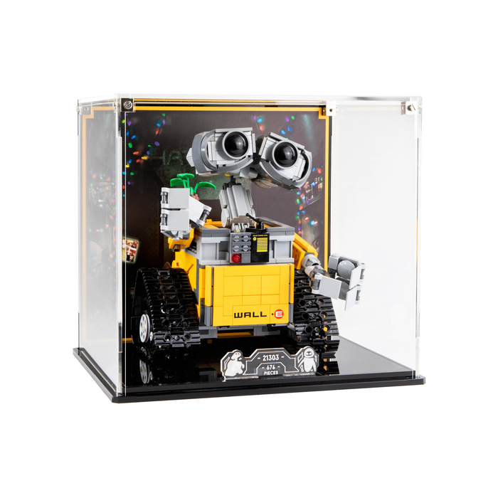 Display case for LEGO Ideas: WALL•E (21303)