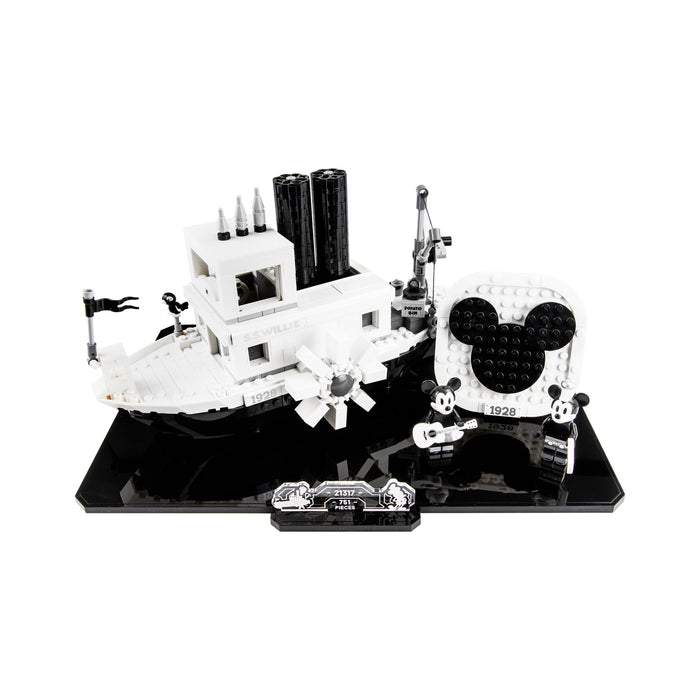 Display base for LEGO Ideas: Steamboat Willie (21317)