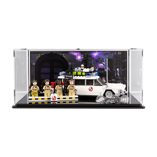 Display case for LEGO Ideas: Ghostbusters Ecto-1 (21108)