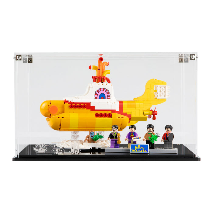 Display case for LEGO Ideas: Yellow Submarine (21306)