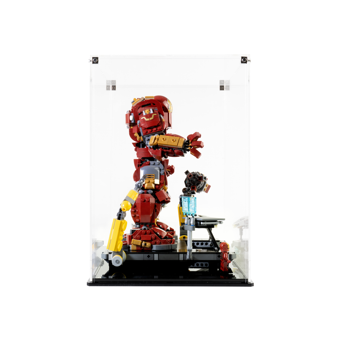Display case for LEGO Marvel: The Hulkbuster (76105)