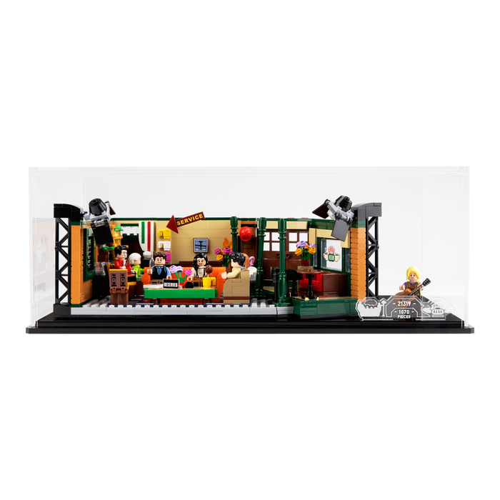 Display case for LEGO Ideas: Central Perk (21319)