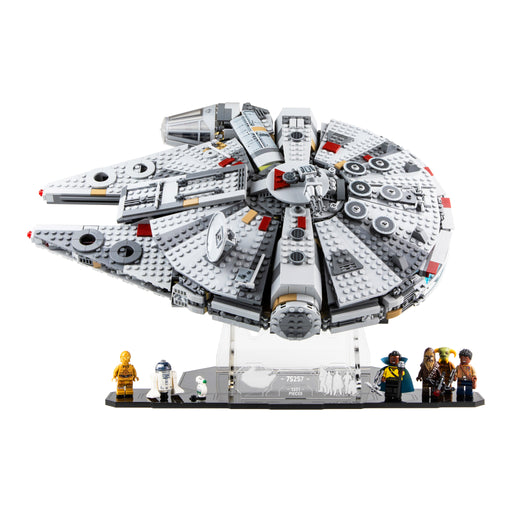 Display stand for LEGO Star Wars: Millennium Falcon (75257)
