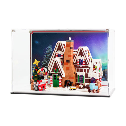 Display case for LEGO Creator: Gingerbread House (10267)