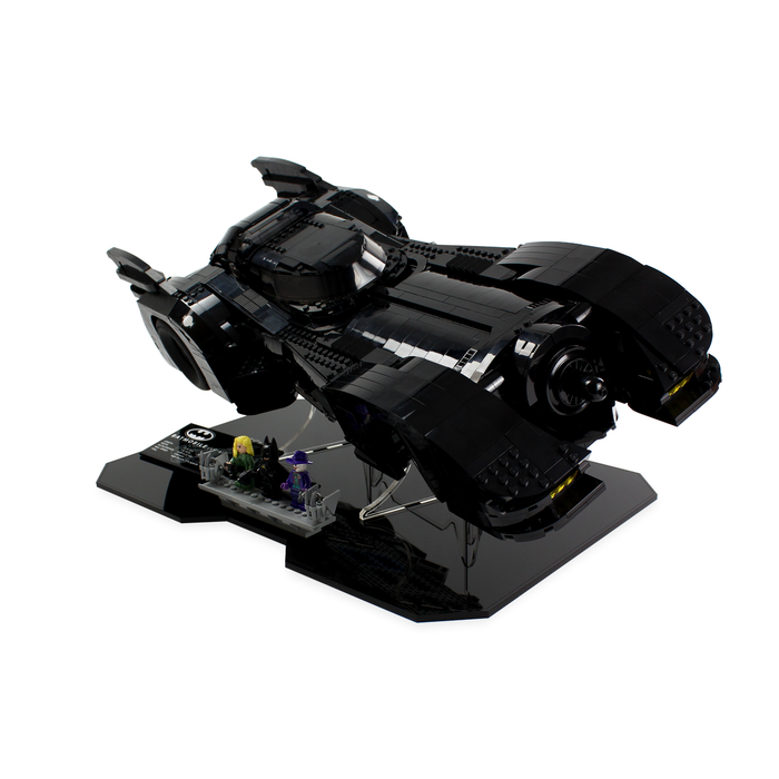 Display Stand (angled) for LEGO DC: Batmobile (76139) - Wicked Brick