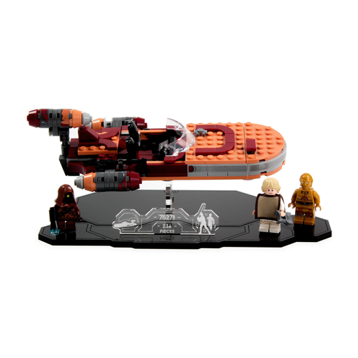 Display stand for LEGO Star Wars: Luke's Landspeeder (75271) - Wicked Brick