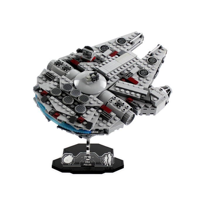 Display solutions for LEGO Star Wars: Midi-Scale Millennium Falcon (7778) - Wicked Brick