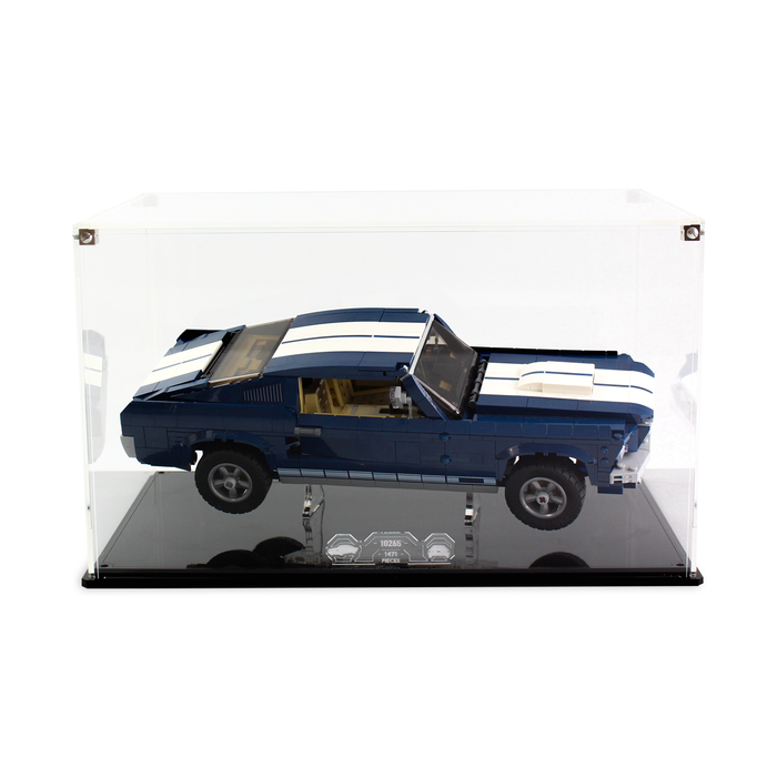 Display case for LEGO Creator: Ford Mustang (10265) - Wicked Brick