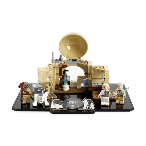 Display stand for LEGO Star Wars: Obi-Wan's Hut (75270) - Wicked Brick