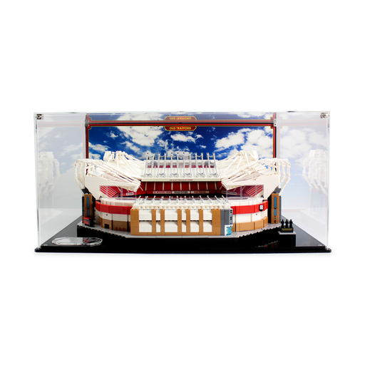 Display case for LEGO Creator Expert: Old Trafford (10272)